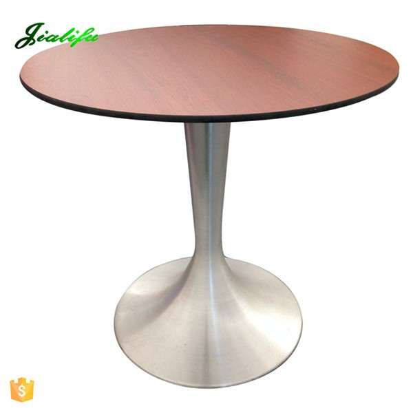 Wooden Grain Hpl Malaysia Round Dining Table Buy Dining
