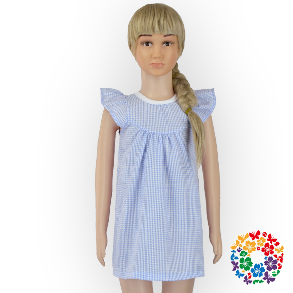 Fashion Designer e Piece Baby Girls Seersucker Dress