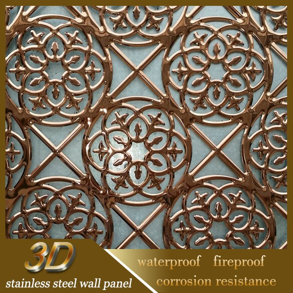 Stainless Steel Perforated Door Decorative Sheet Metal Panels