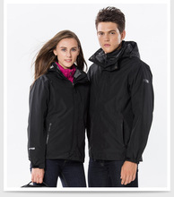 Couple Waterproof Windproof Warm Hiking Jackets Winter Outdoor Camping Jackets