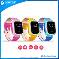 GPS AGPS LBS Positioning Smart Phone Watch for Children, Compatiable with IOS & Android Smartphone