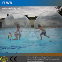 Colorful PVC/TPU water sphere ball inflatable water walking ball walk on water inflatable ball
