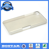 High quality Glossy finished hard plastic mobile cell phone case for black berry q10