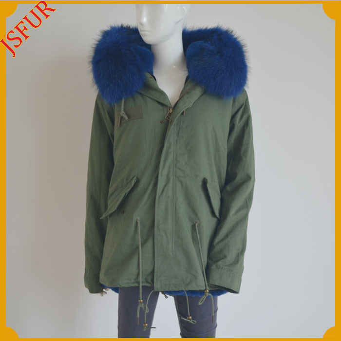 Factory Wholesale Fur Collar Parka Glass For Women Winter Jacket