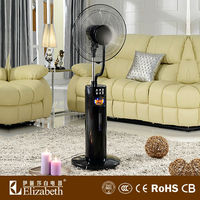 Air cooler 2016 spray nozzle spray mist fan cooling mist fan stand fan