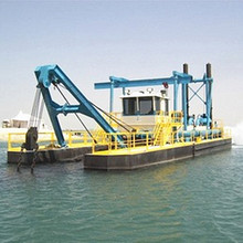 new nigeria 8 inch gold dredging boat and river sand mining equipment with diesel the engine for sale