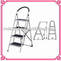 residential stainless steel round stairs, metal step stool
