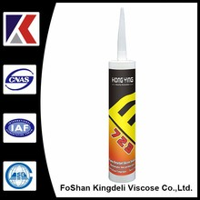Anti-fungal acid silicone sealants for aquarium sealing