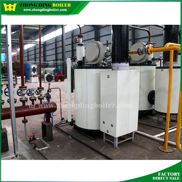 gas fired boiler for central heating system