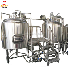 Pub used Craft commercial industrial micro beer brewing equipment