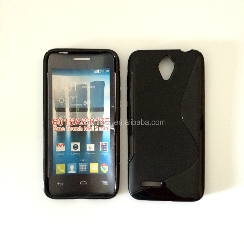 Mobile Accessories S Line TPU Soft Case for Alcatel One Touch Idol 2 Mini 6016A 6016E