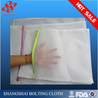 Free sample wholesale nylon laundry bag, nylon mesh laundry bag
