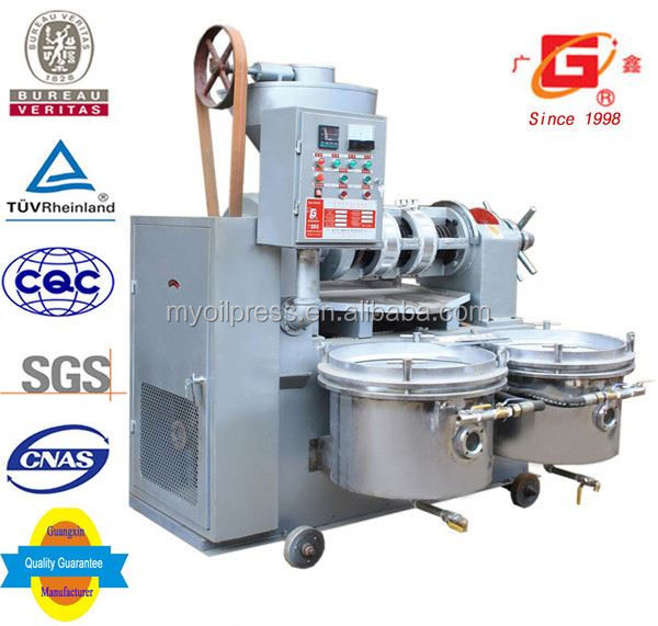 farming machine castor oil screw press with filter