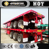 JAC 40 ft container transport semi trailer tanker semi trailer cheap