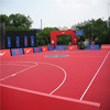 portable outdoor sport court basketball flooring