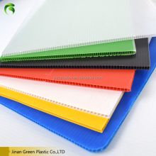 Green hot sale corrugated polypropylene PP plate sheet/pp hollow board manufacturer