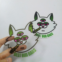 Waterproof Printing Transparent Sticker , Custom Adhesive Die Cut Lables Stickers Sheet