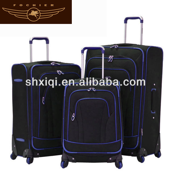 Aluminum metal suitcase 2014 plastic luggage for blinds cover luggage