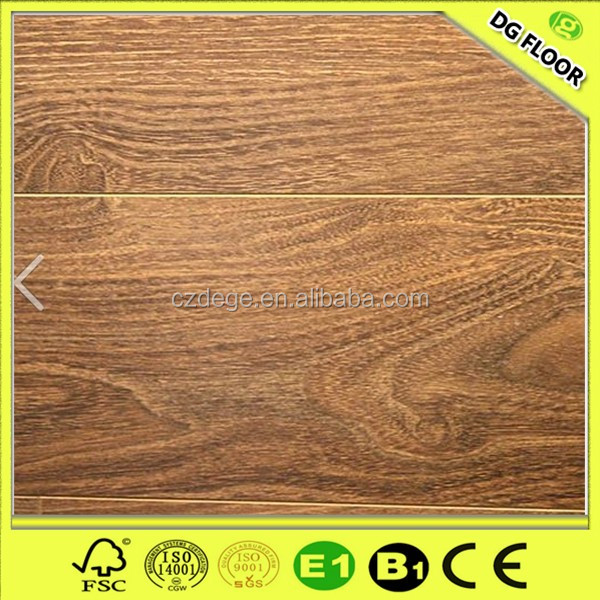Economic dark oak timber wood laminate flooring store