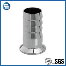 Sanitary 304 316 Stainless Steel Pipe Quick Connection Ferrule Tri Clamp Hose Coupling