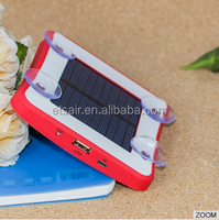 Hot Selling Solar Power Bank 1800mAh/2600mAh/5200mAh With Four Section Cup Power Bank Charger