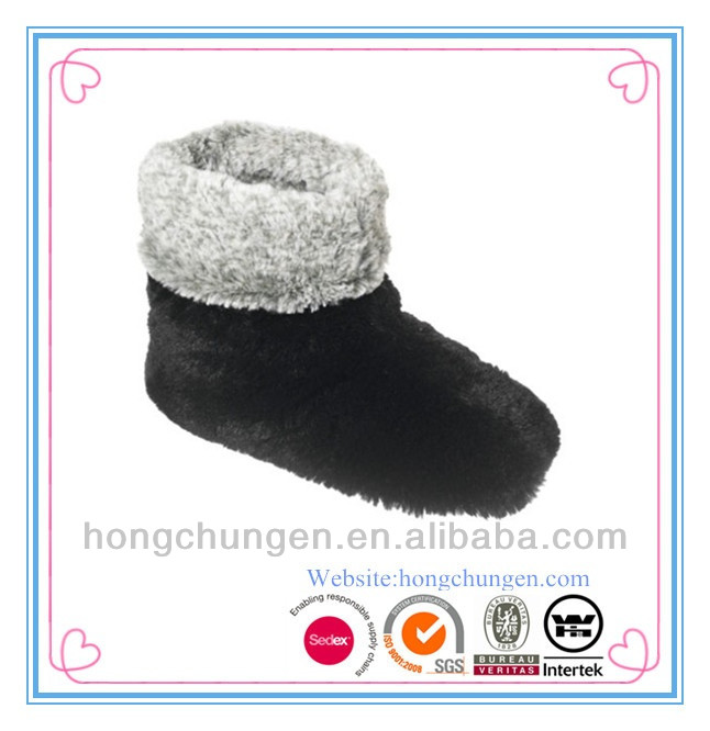 star product fashionable comfortable fur lining indoor bootie