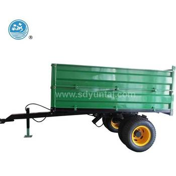 double axle farm tractor trailer for tractor