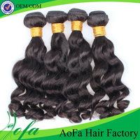 Wholesale body wave 100% human virgin graded malaysian hair weft