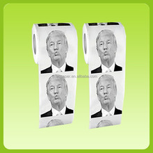 Hot selling Donald Trump printed toilet paper roll