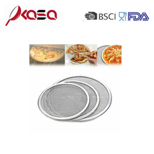 Aluminum wire mesh pizza screen Trays
