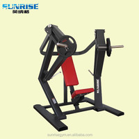 commercial fitness equipment seated incline chest press