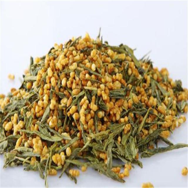 Early spring Genmaicha organic green tea Organic Japanese tea scent sencha roasted rice tea
