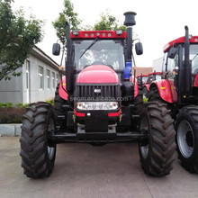 Africa hot selling DQ1504 150HP 4WD High quality China Cheap Farm Tractor with ISO,CE,PVOC,COC certificate