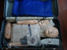 Nursing doll for CPR training with hospital education choice