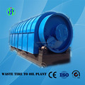 Large capacity ! waste rubber raw material recycling to oil pyrolysis machine with CE ISO