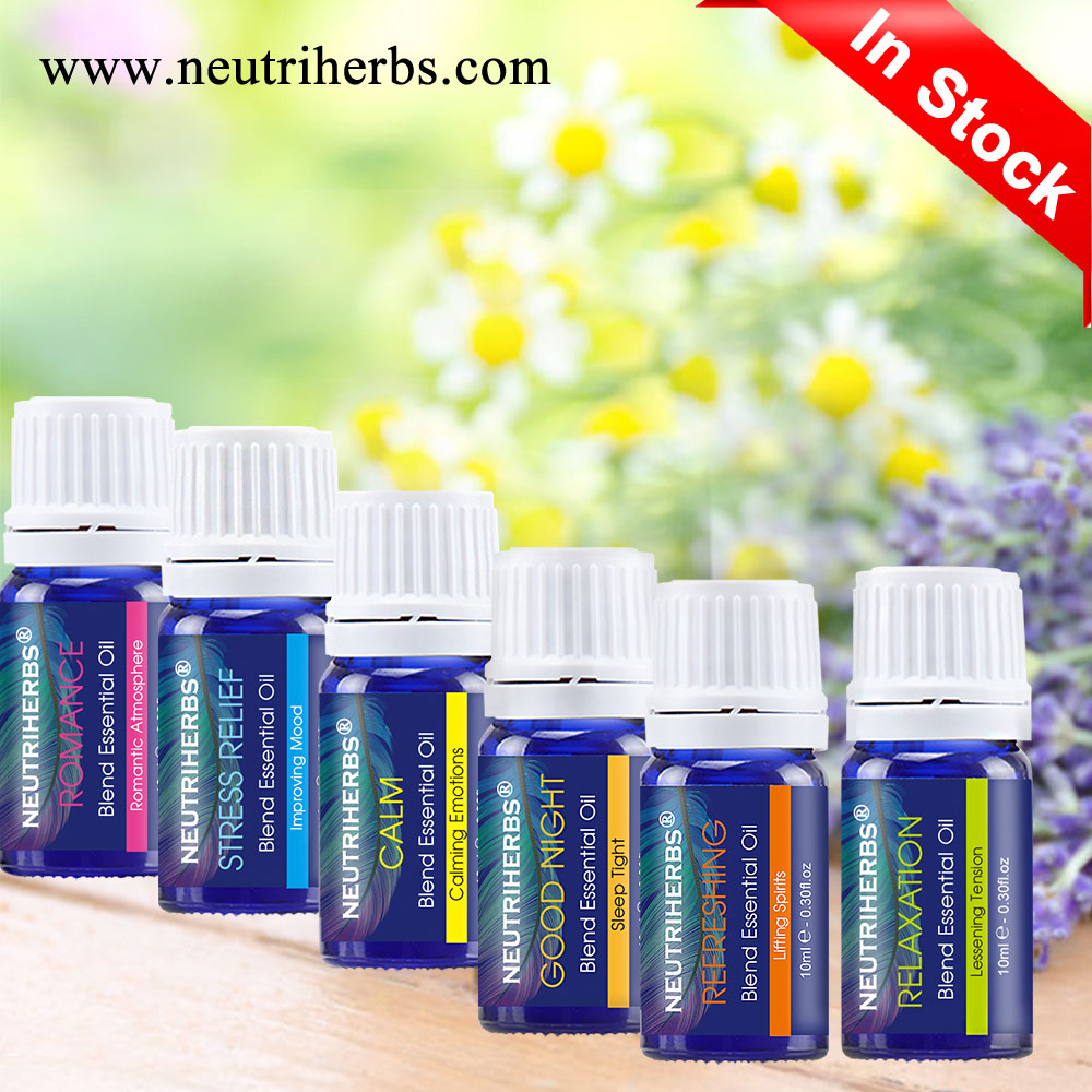 Natural New Product Royal Orchid Essential Oil Aromatherapy Gift Set 6 Kinds Essential Oil For Relaxation