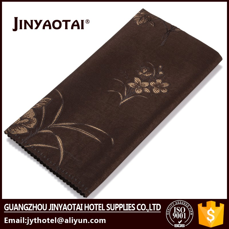 printed hot sale sample cloth 100% cotton table napkin