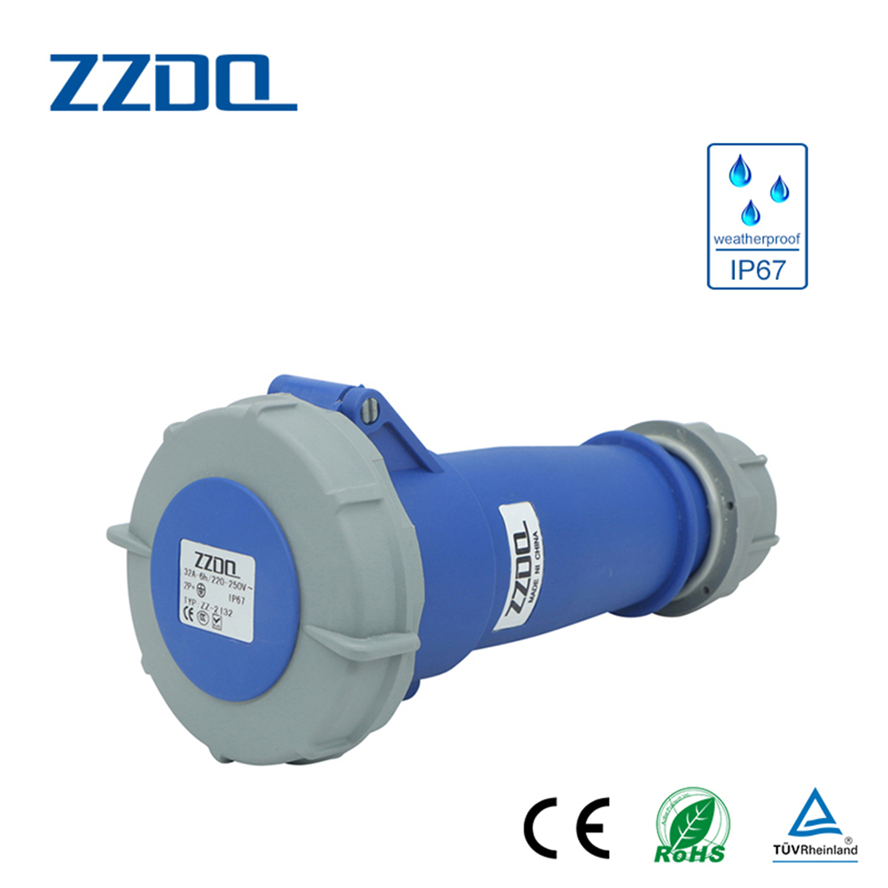 China best 13a industrial plug and socket