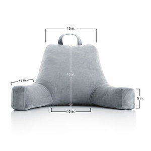 Perfect for Back Support Relaxing Bed Reading Pillow with Arms