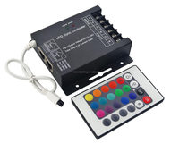 User-feeling IR led controller rgb led controller programmable, led light controller DC12-24V 576W CE ROHS WARRANTY