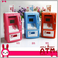 ATM plastic coin bank money box,mini atm coin bank,custom coin bank