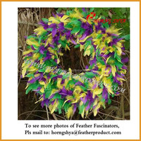 Turkey Feather Wreath Gift