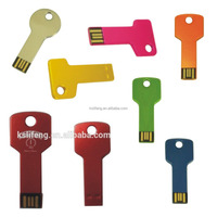 Custom Printed USB USB flash Drives Key Shape USB