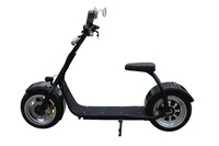 2016 fashion big wheel citycoco scooter off road electric motorcycle from china