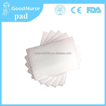 2015 hot sale oem paper pad for patients ,enuresis babies and lying-in women