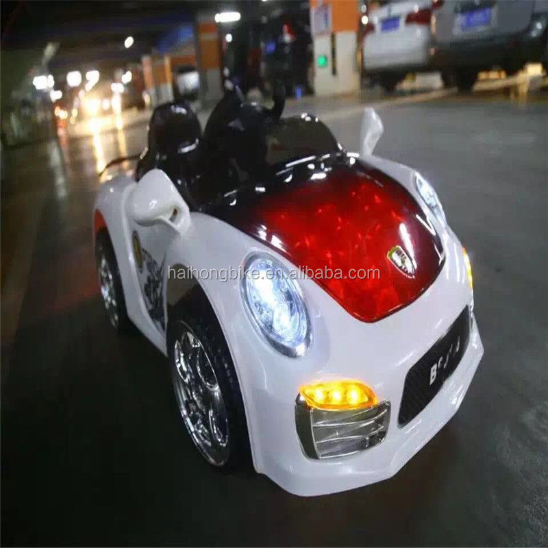Wholesale Plastic type material rc children electric kids car/ride on toy