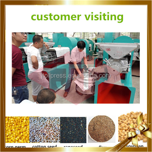 Oil making machine expeller sunflower peanut soybean cold hemp automatic oil press