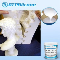 RTV -2 liquid silicone rubber for plaster cornice mold/gypsum crafts molding silicone/silicone for concrete mold