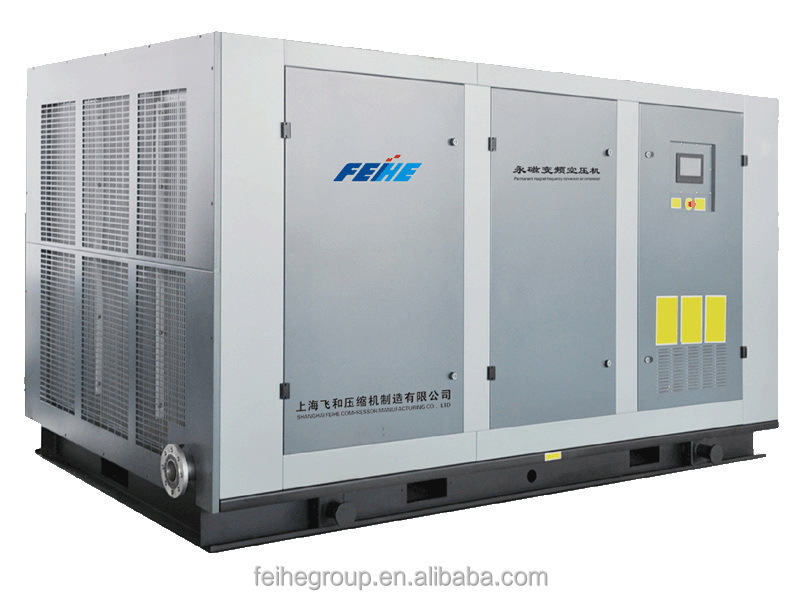 china shanghai supplier manufacturer factory price 450 bar air compressor Stationary Single Screw Compressor