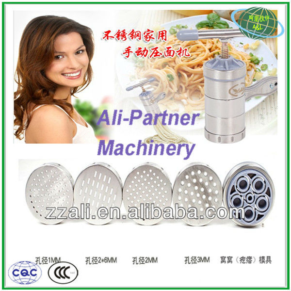 High quality hand operated noodle making machine